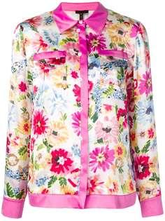 Escada рубашка с цветочным принтом