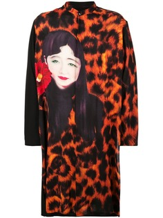 Yohji Yamamoto блузка Leopard