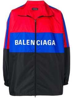 Balenciaga ветровка с логотипом
