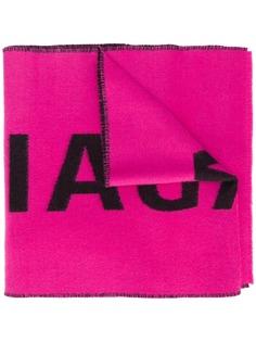 Balenciaga длинный шарф с логотипом