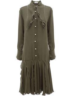 JW Anderson многослойное платье миди