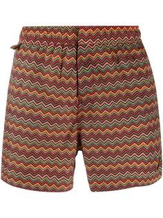 Missoni плавки-шорты с узором шеврон