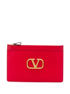 Valentino клатч с логотипом Go Logo