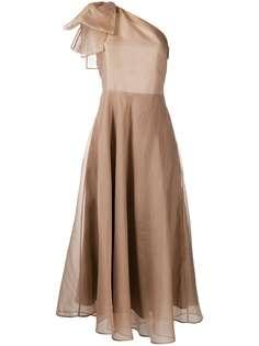 MSGM платье на одно плечо