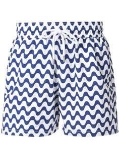 Frescobol Carioca плавки-шорты с узором