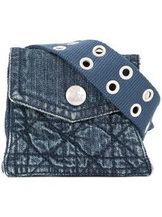 Christian Dior джинсовая поясная сумка