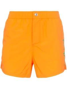 Kenzo плавки-шорты с логотипом