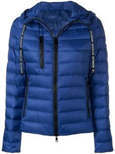 Moncler пуховая куртка с капюшоном