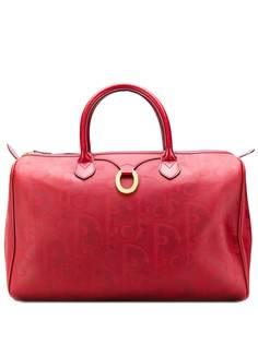 Christian Dior сумка-тоут 1990-х годов с узором