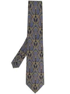 Gianfranco Ferré Pre-Owned галстук 1990-х годов с принтом