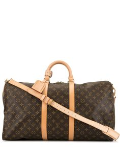 Louis Vuitton дорожная сумка 2001 Keepall Bandouliere 55