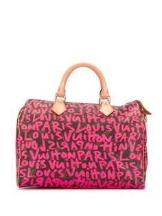 Louis Vuitton сумка Speedy 30 с принтом
