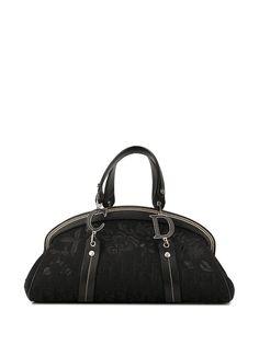 Christian Dior сумка-тоут Trotter с вышивкой