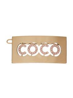 Chanel Pre-Owned заколка для волос с логотипом CC