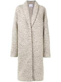 Acler пальто Blair средней длины в мелкую точку