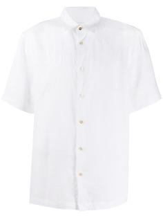 Paul Smith однотонная рубашка на пуговицах