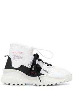 F_WD высокие кроссовки