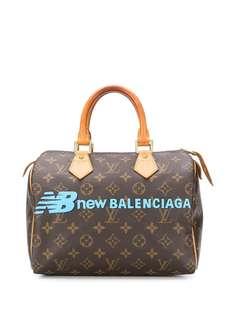 Louis Vuitton кастомизированная сумка-тоут с монограммой