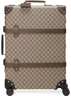 Gucci чемодан с логотипом GG из коллаборации с Globe-Trotter