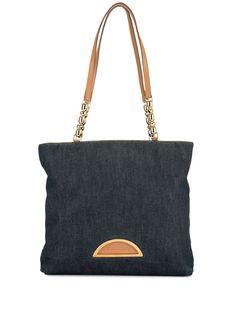 Christian Dior джинсовая сумка-тоут Maris Pearl