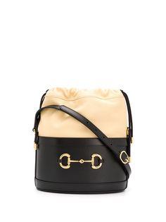 Gucci сумка-ведро 1955-го года с пряжкой Horsebit