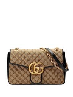 Gucci сумка на плечо GG Marmont среднего размера