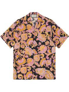 Gucci рубашка с короткими рукавами и принтом пейсли