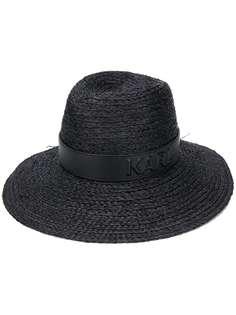 Karl Lagerfeld соломенная шляпа Karl
