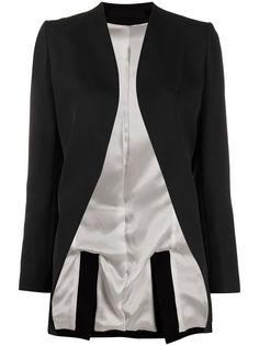 Haider Ackermann пиджак-смокинг без застежки