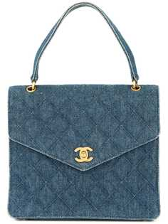Chanel Pre-Owned джинсовая сумка