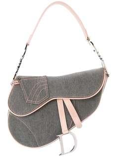 Christian Dior джинсовая сумка-седло