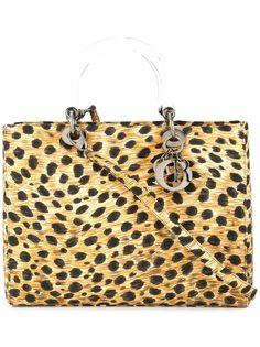 Christian Dior сумка с принтом