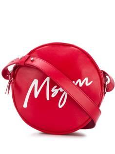 MSGM сумка через плечо с логотипом