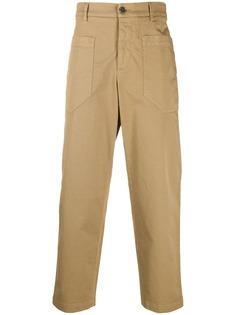 Barena укороченные брюки прямого кроя
