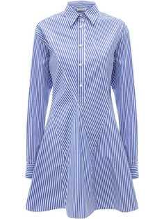 JW Anderson платье-рубашка в полоску