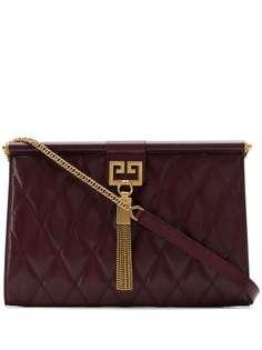 Givenchy средняя стеганая сумка Gem