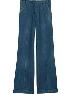 Gucci джинсы с завышенной талией