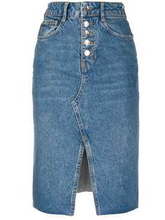 LIU JO джинсовая юбка-карандаш