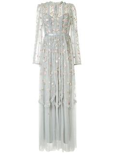 Needle & Thread платье Wallflower из тюля