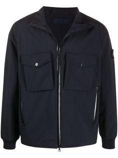 Stone Island куртка бомбер с карманами