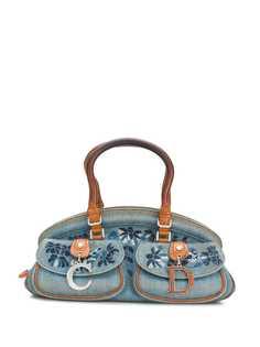 Christian Dior сумка с цветочной вышивкой