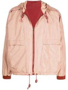Giorgio Armani Pre-Owned куртка 1990-х годов в тонкую полоску
