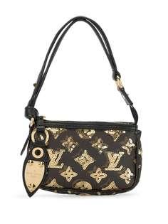 Louis Vuitton мини-сумка с монограммой и пайетками