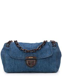 Prada Pre-Owned джинсовая сумка на плечо 2012-го года