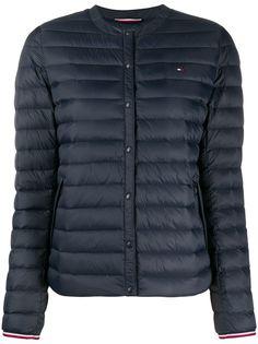 Tommy Hilfiger стеганая куртка без воротника
