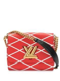 Louis Vuitton сумка на плечо Malletage Twist PM 2014-го года