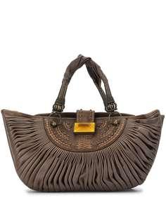 Christian Dior сумка-тоут 2007-го года со складками