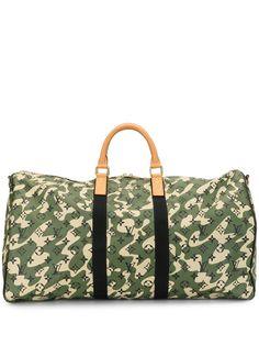 Louis Vuitton сумка x Takashi Murakami Keepall Bandouliere 55 2008-го года