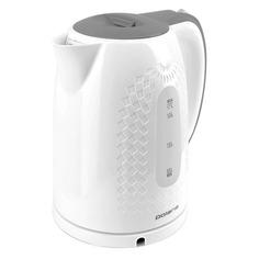 Чайник электрический POLARIS PWK 1713C, 2200Вт, белый и серый