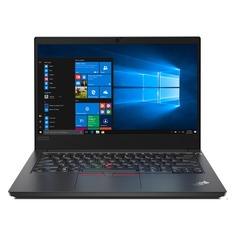 """Ноутбук LENOVO ThinkPad E14-IML T, 14"""", IPS, Intel Core i3 10110U 2.1ГГц, 8ГБ, 1000ГБ, Intel UHD Graphics , Windows 10 Professional, 20RA0010RT, черный"""